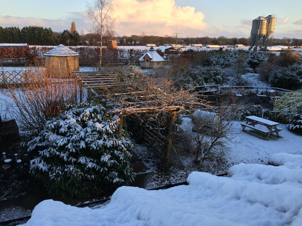 snowpergola